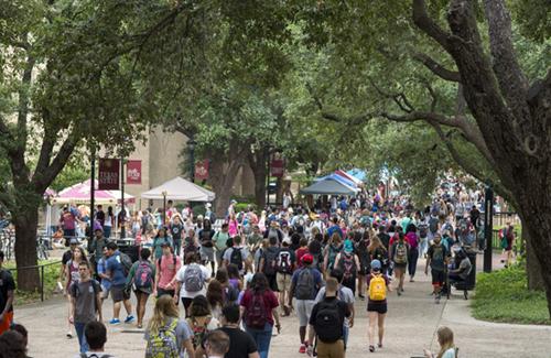 Texas State University Quad